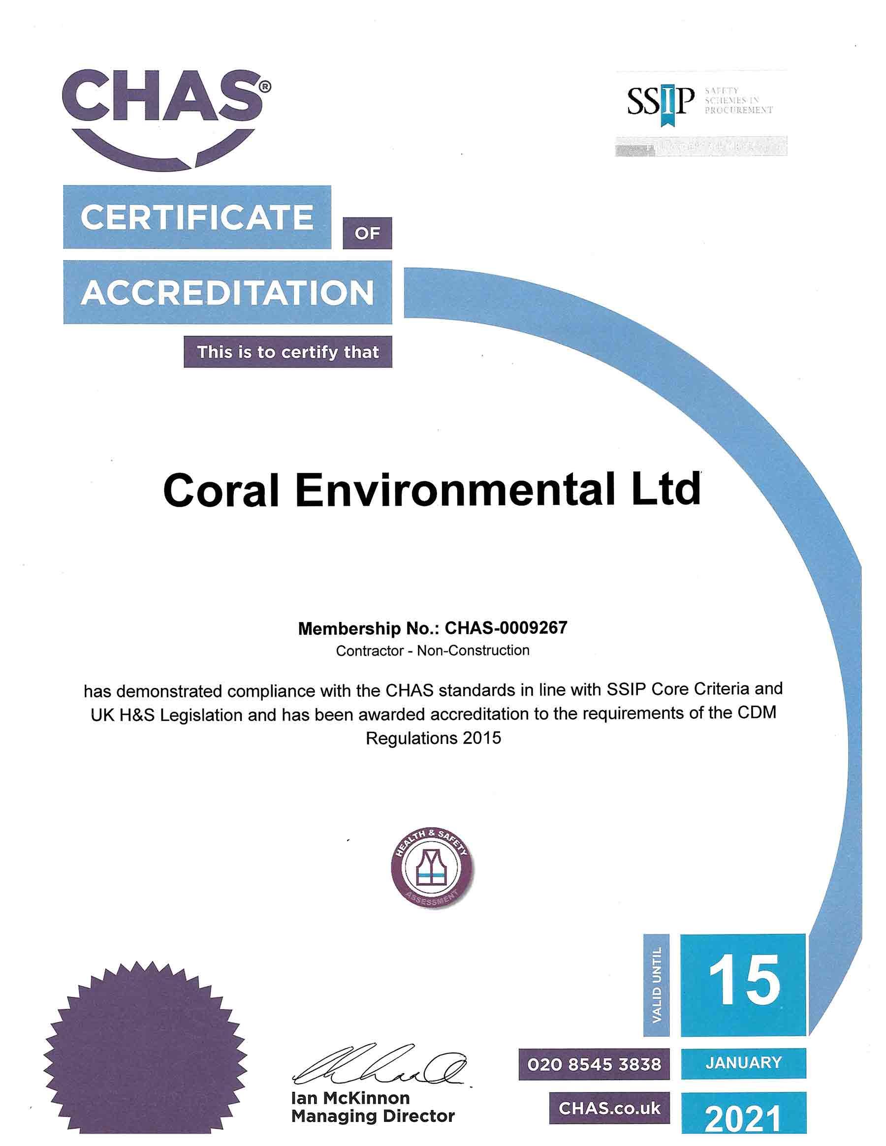 CHAS-Certificate-EXP-Jan-2021